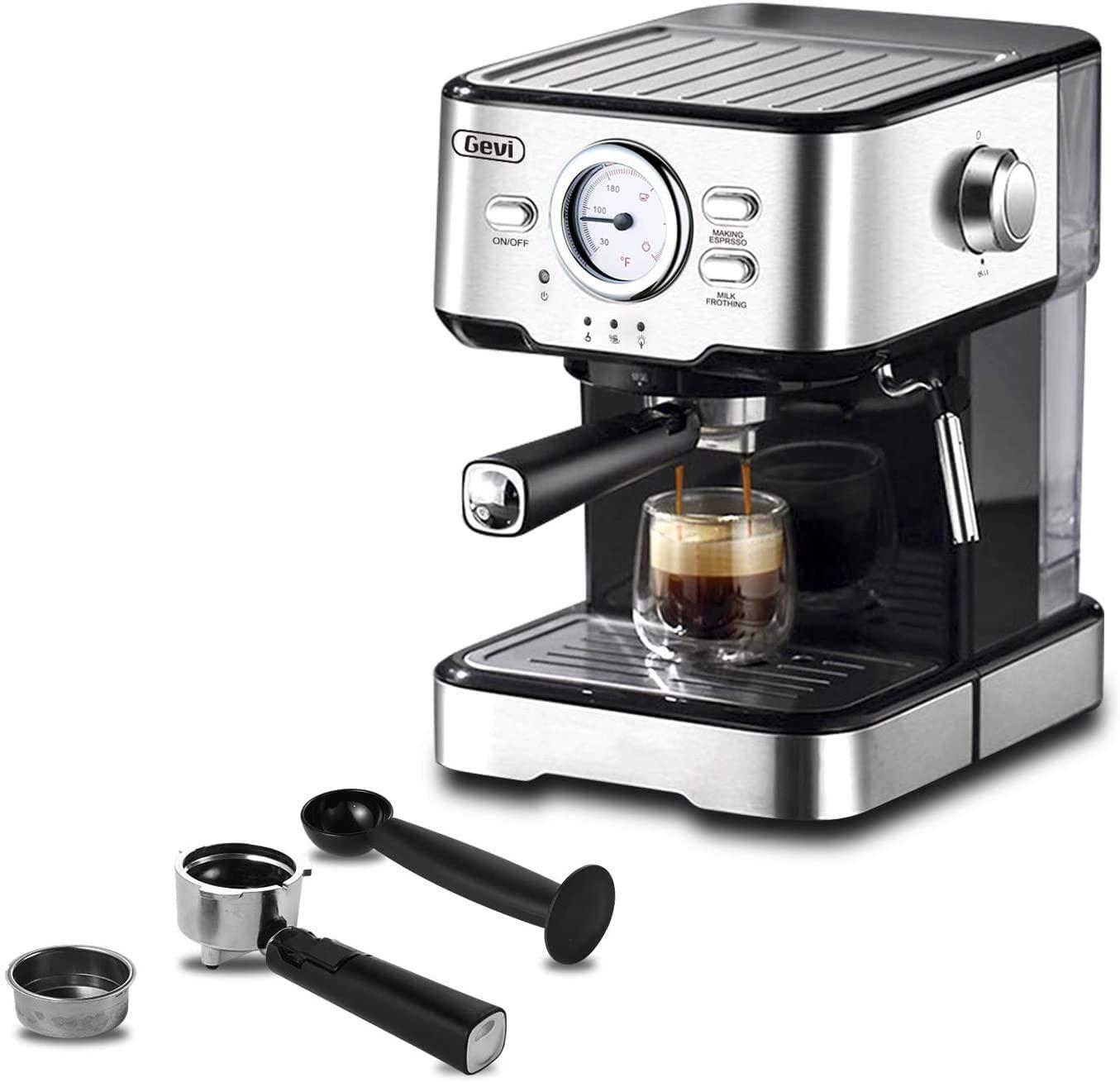 Gevi Espresso Machine | Coffee Brew Mag