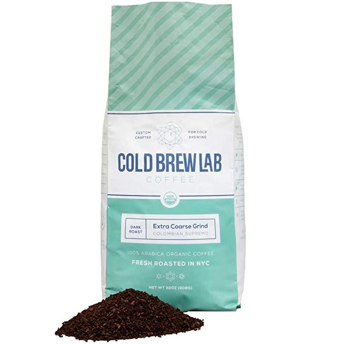 Cold Brew Lab Organic Coarse Ground Coffee | coffee brew mag