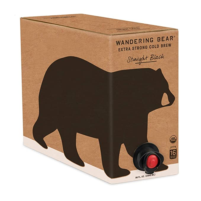 Wandering Bear Organic Cold Brew Coffee | coffee brew mag