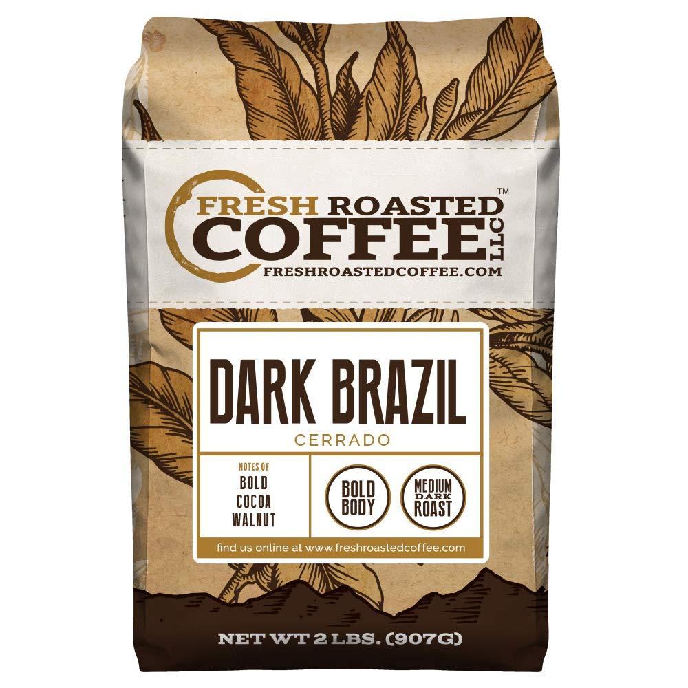 Fresh Roasted Coffee LLC, Dark Brazil Cerrado Coffee | coffee brew mag