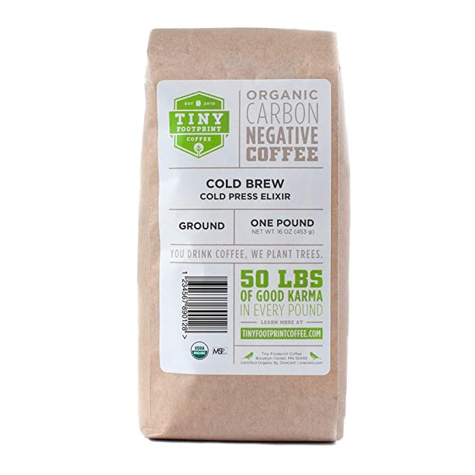 Tiny Footprint Coffee - Organic Cold Brew | coffee brew mag